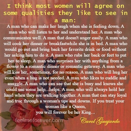 I think most women will agree