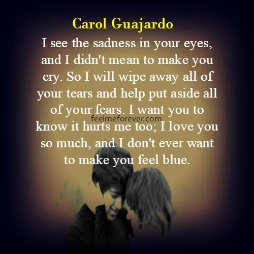 Messed Up Life Quotes: I See The Sadness In Your Eyes