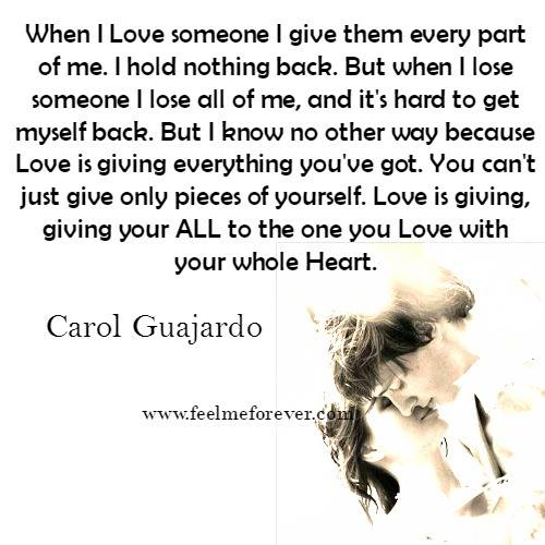 i find it hard to love someone Home categories friendly divorce acknowledge the love that is when the rejection comes from someone you love it's hard to fight with someone who's on.