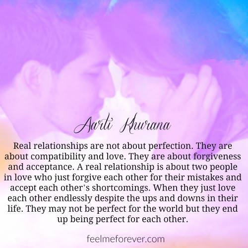 Quotes About Love Relationships: A Real Relationship